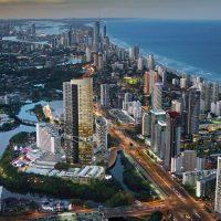 Star Residences Gold Coast Coastline