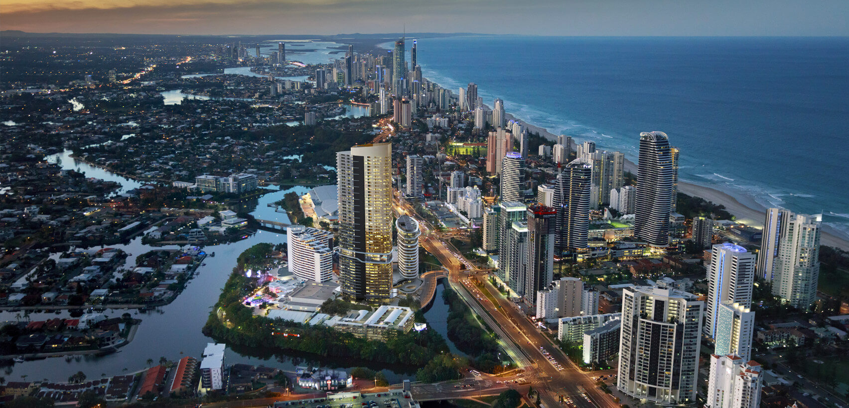 Star Residences Gold Coast Coastline