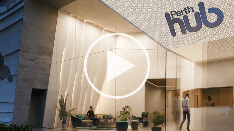 Perth Hub Entrance Reception Concept
