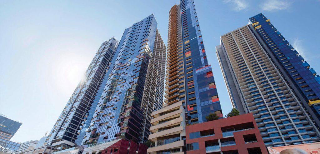 city buildings multicoloured