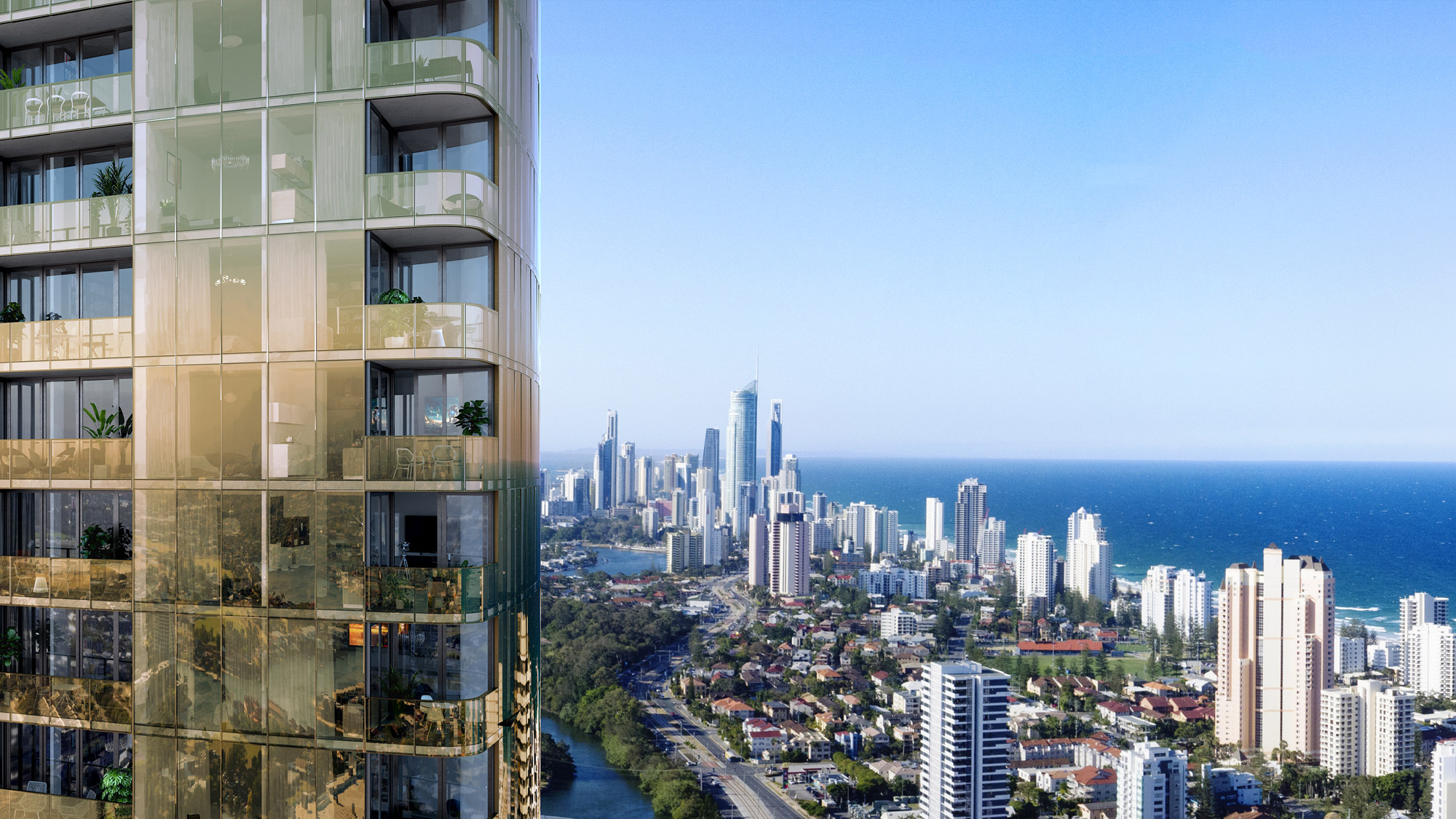 Gold Coast Apartment Sea View