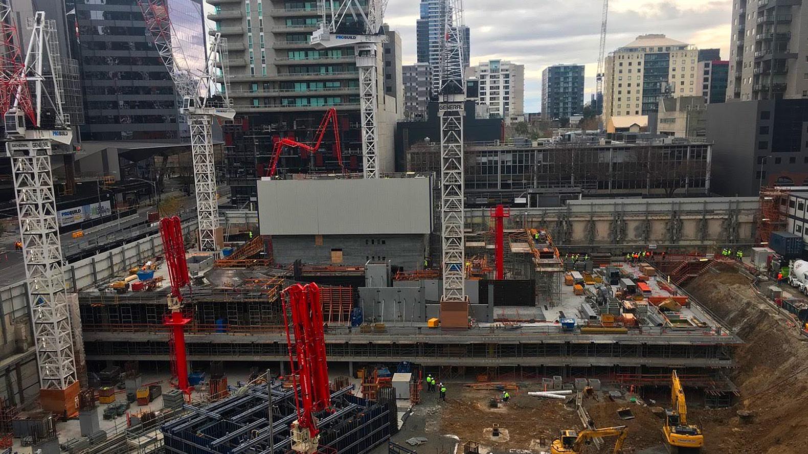 Upper West Side Construction Work In Progress