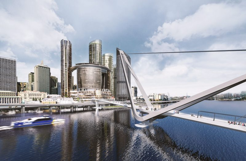 Queen's Wharf Residences Render river