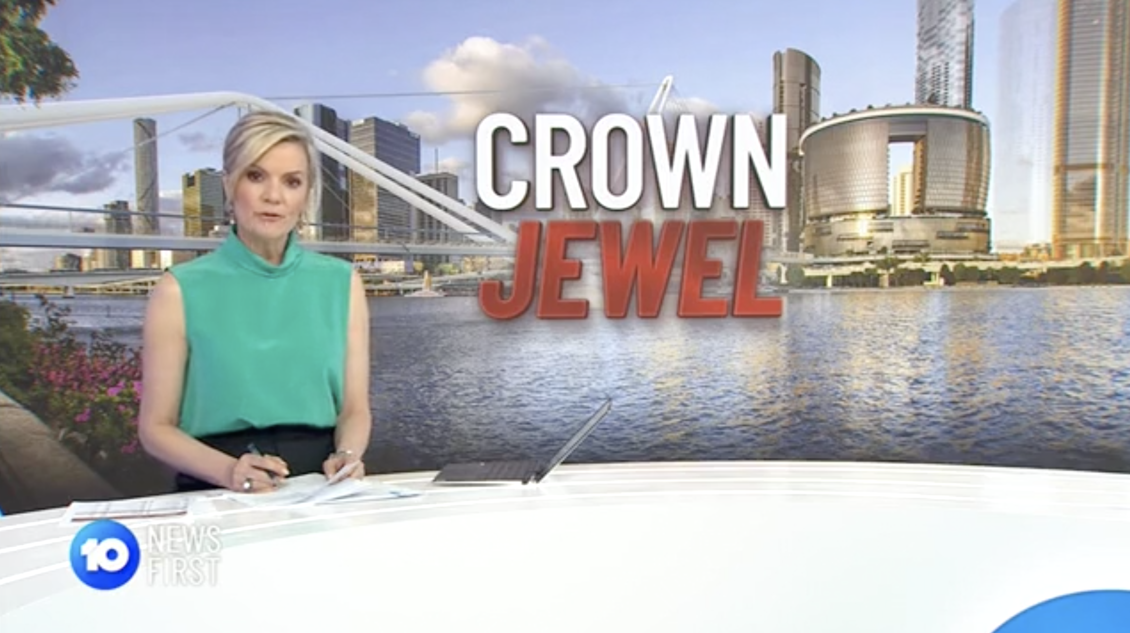 Latest updates on the Queen's Wharf Brisbane project on Channel 10 News